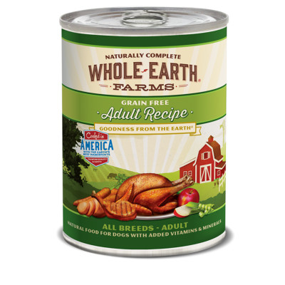 buy whole-earth-farms-canned-adult-dog-food