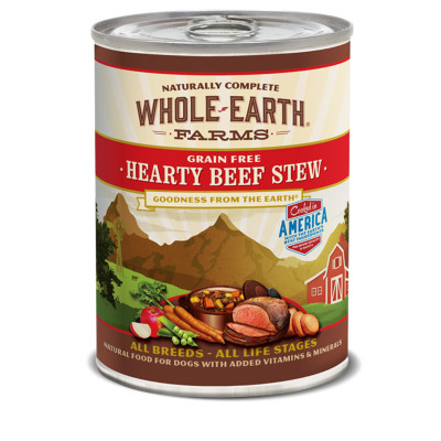 buy whole-earth-farms-beef-stew-canned-dog-food