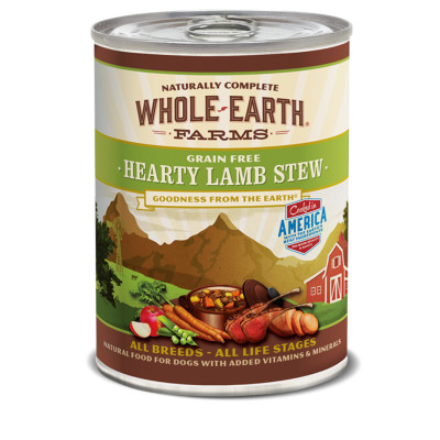 buy -whole-earth-farms-grain-free-lamb-stew-canned-dog-food