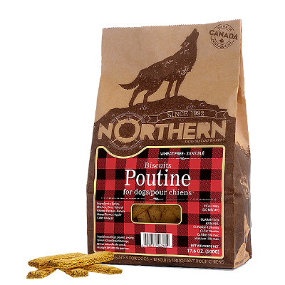 buy Northern Biscuit Canadian Dog Treats Poutine