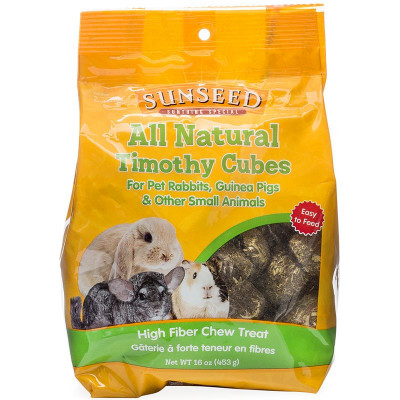 buy Sunseed All Natural Timothy Cubes For Small Animals