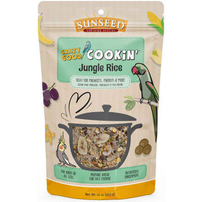 buy Sunseed Crazy Good Cookin' Jungle Rice For Birds
