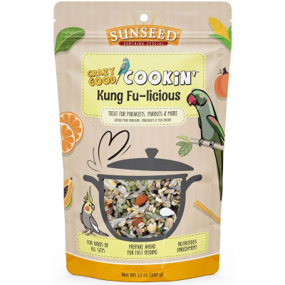 buy Sunseed Crazy Good Cookin' Kung Fu-licious For Birds