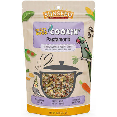 buy Sunseed Crazy Good Cookin' Pastamoré For Birds