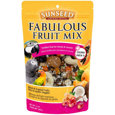 buy Sunseed Fabulous Fruit Mix For Parrots