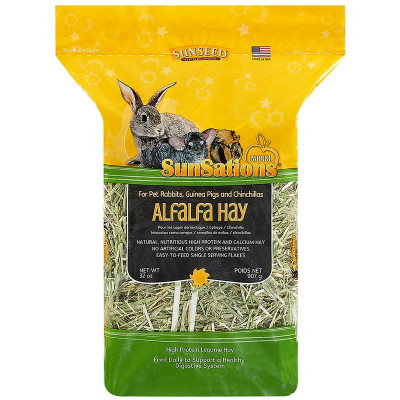 buy Sunseed SunSations Natural Alfalfa Hay For Small Animals