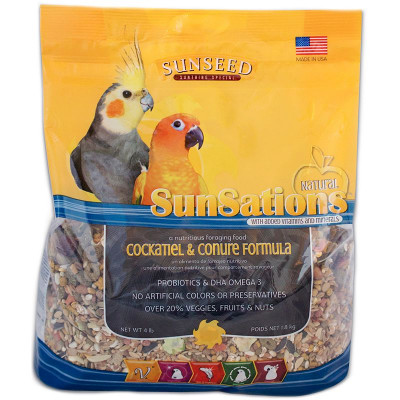buy Sunseed SunSations Natural Cockatiel And Conure Formula