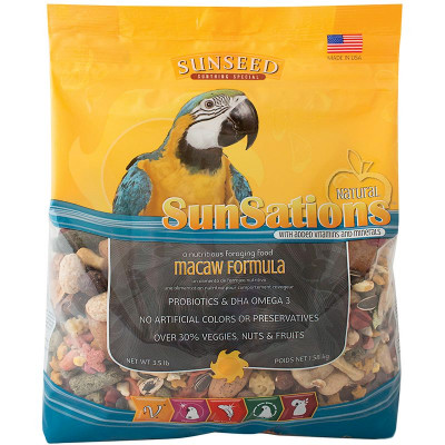 buy Sunseed SunSations Natural Macaw Formula