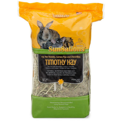 buy Sunseed SunSations Natural Timothy Hay For Small Animals