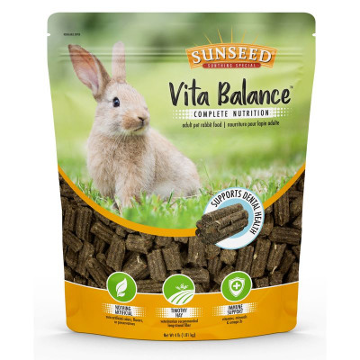 buy Sunseed Vita Balance Adult Pet Rabbit Food