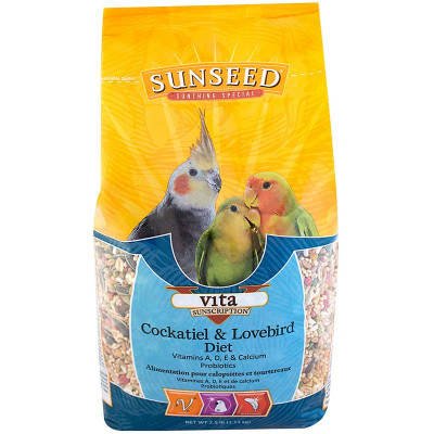 buy Sunseed Vita Cockatiel And Lovebird Diet