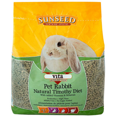 buy Sunseed Vita Natural Timothy Pet Rabbit Diet