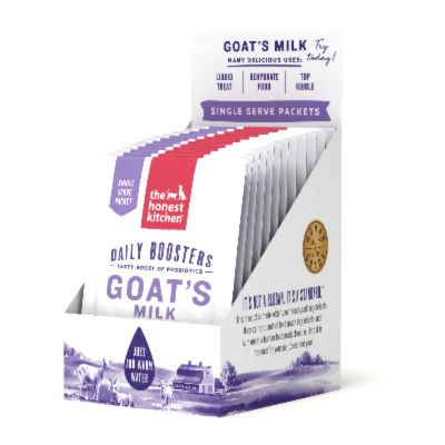 buy The Honest Kitchen Daily Booster Instant Goat's Milk With Probiotics 12 Pack