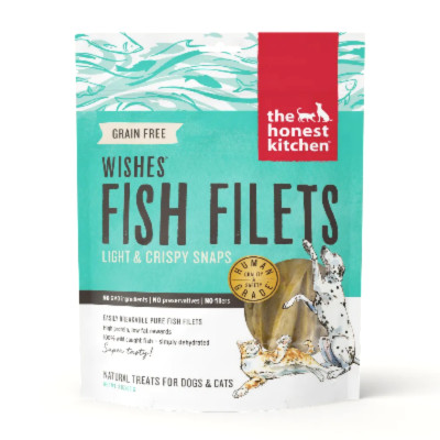"buy The Honest Kitchen Grain-Free ""Wishes"" Treats Fish Filets For Cats Or Dogs"