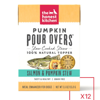 buyThe Honest Kitchen Pour-Overs Pumpkin And Salmon Stew Food Toppers For Dogs