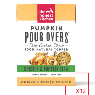 uy The Honest Kitchen Pour-Overs Superfood And Chicken With Spinach Stew Food Toppers For Dogs