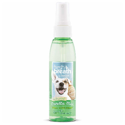 Buy Tropical Fresh Breath Vanilla Mint Oral Care Spray for Dogs