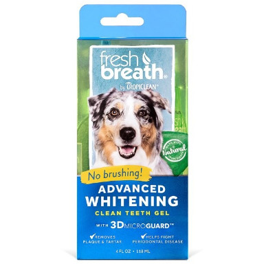Buy Tropiclean Advanced Whitening Clean Teeth Oral Care Gel for Dogs