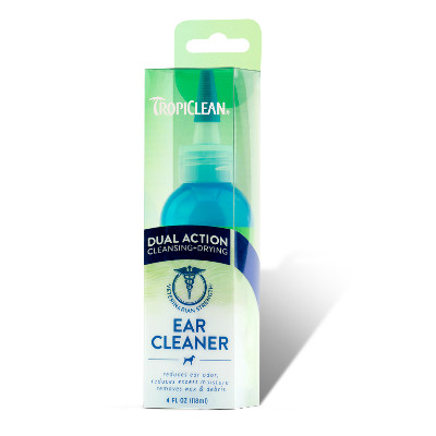 Buy Tropiclean Dual Action Pet Ear Cleaner