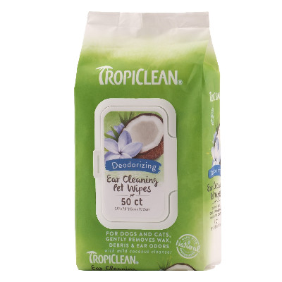 Buy Tropiclean Ear Cleaning Wipes for Pets