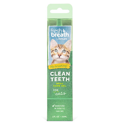Buy Tropiclean Fresh Breath Clean Teeth Oral Care Gel for Cats