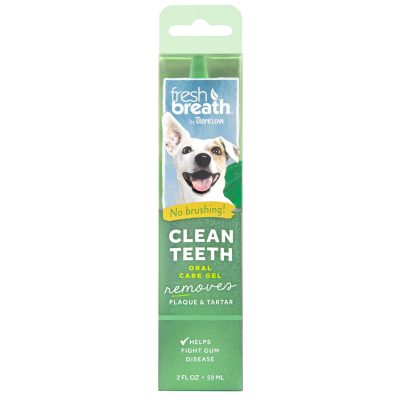 Buy Tropiclean Fresh Breath Clean Teeth Oral Care Gel for Dogs