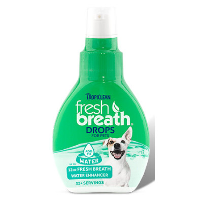 Buy Tropiclean Fresh Breath Oral Care Drops for Dogs