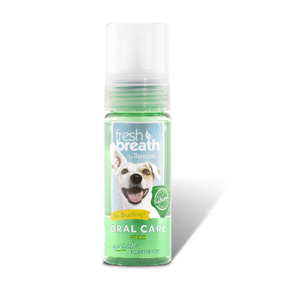 Buy Tropiclean Fresh Breath Oral Care Foam for Dogs