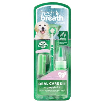 Buy Tropiclean Fresh Breath Oral Care Kit for Puppies