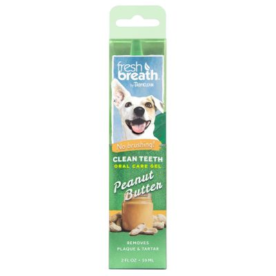 Buy Tropiclean Peanut Butter Clean Teeth Oral Care Gel for Dogs