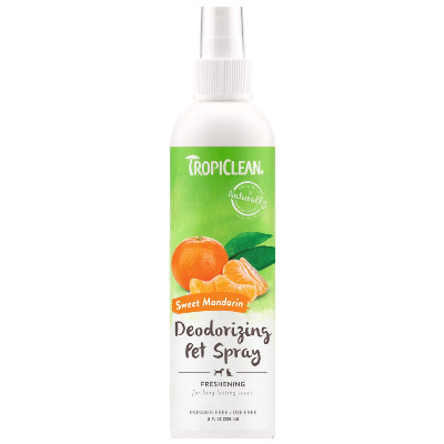 Buy Tropiclean Sweet Mandarin Deodorizing Pet Spray