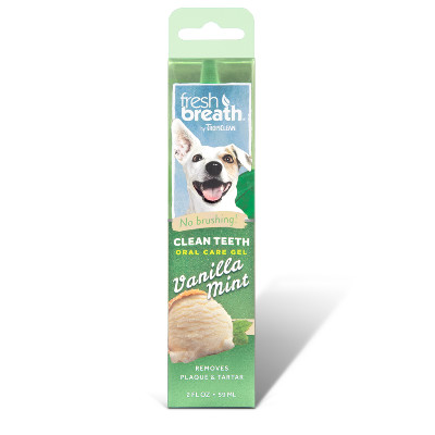 Buy Tropiclean Vanilla Mint Clean Teeth Oral Care Gel for Dogs