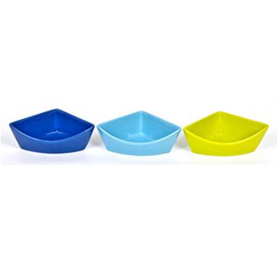 buy Ware-Cat-Feeder-Corner-Dish-Ceramic-Large