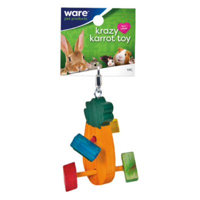 buy Ware Critter Toys Crazy Carrot Toy For Small Animals
