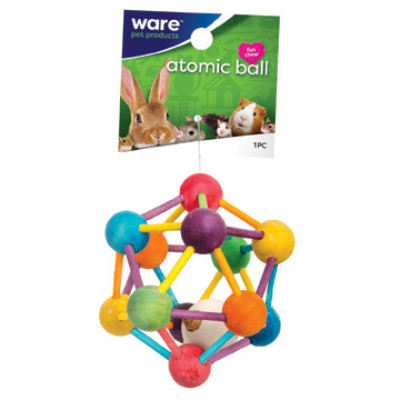buy Ware Critter Toys Large Atomic Nut Ball For Small Animals