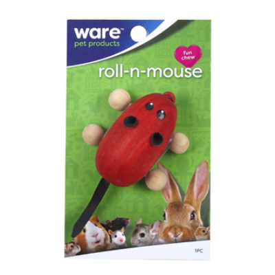 buy Ware-Critter-Toys-Roll-N-Mouse-For-Small-Animals