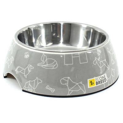 buy Be-One-Breed-Origamii-Melamine-Bowl-Pet-Dish
