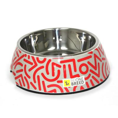 buy Be-One-Breed-Confetti-Melamine-Bowl-Pet-Dish