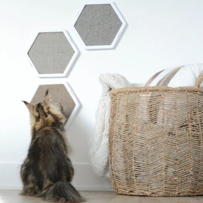 buy Be-One-Breed-Hexagonal-Scratcher-For-Catsall