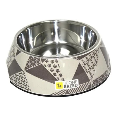 buy Be-One-Breed-Mosaic-Melamine-Bowl-Pet-Dish