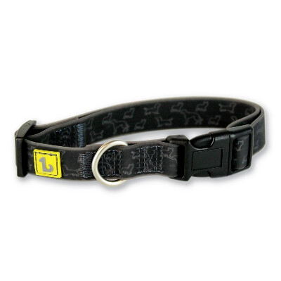 buy Be-One-Breed-Silicone-Black-Doggies-Collars-For-Dogs