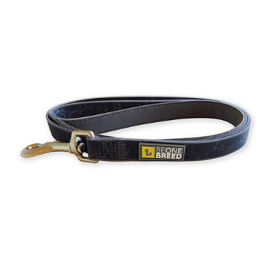 buy Be-One-Breed-Silicone-Black-Doggies-Leash-For-Dogs