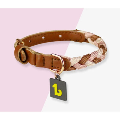 buy Be-One-Breed-Silicone-Collar-For-Catspink