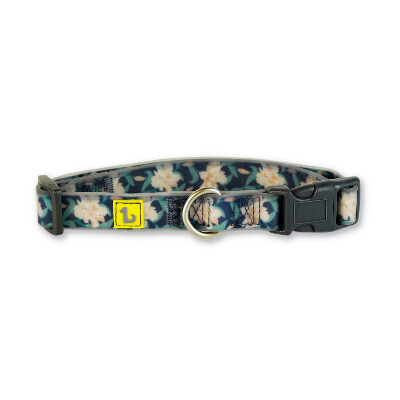 buy Be One Breed Silicone Dark Flower Collars For Dogs