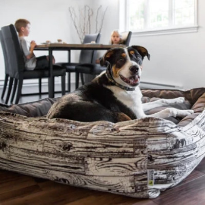 buy Be One Breed Wood Cozy Bed For Dogs