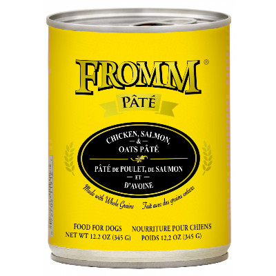 buy Fromm Chicken, Salmon, And Oats Pâté Dog Food