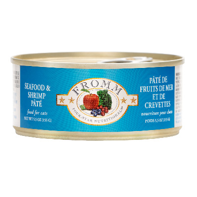 buy Fromm-Four-Star-Cat-Food-Seafood-Shrimp