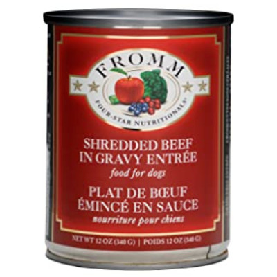buy Fromm-Four-Star-Dog-Food-Shredded-Beef-In-Gravy