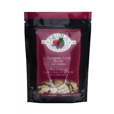 buy Fromm-Four-Star-Ultra-Premium-Cranberry-Liver-Training-Treats-For-Dogs
