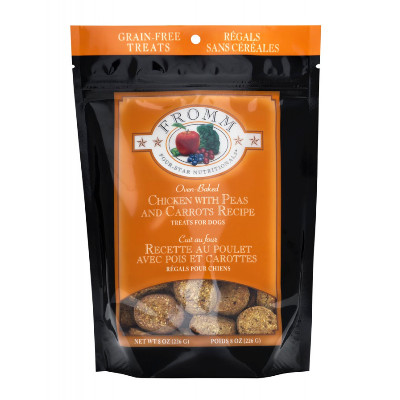 buy Fromm-Four-Star-Ultra-Premium-Grain-Free-Chicken-with-Peas-and-Carrots-Training-Treats-For-Dogs